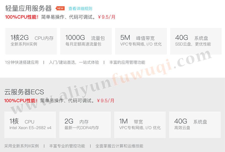 阿里云9.5元学生服务器优惠购买和配置方法