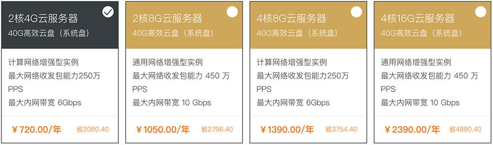 阿里云高性能云服务器特惠网络增强/GPU异构/大数据高性能云服务器
