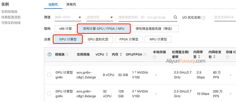 阿里云GPU服务器租用价格配置问题解答(全解析)
